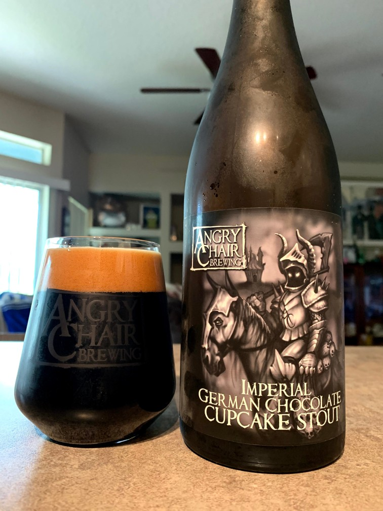 Imperial German Chocolate Cupcake Stout